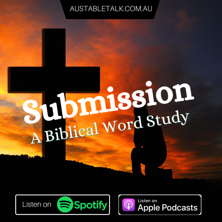 Submission: A Biblical Word Study